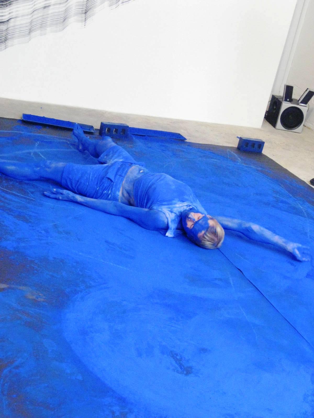 Performed Painting At The Ryder Caroline Banks