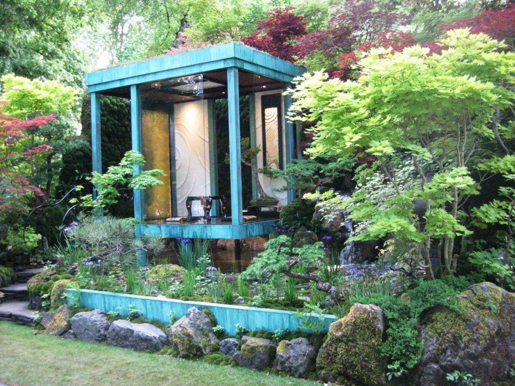gosho no niwa: no wall; no war japanese garden at chelsea flower