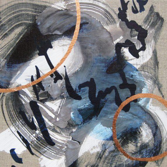 Shostakovich Concerto painting by Caroline Banks