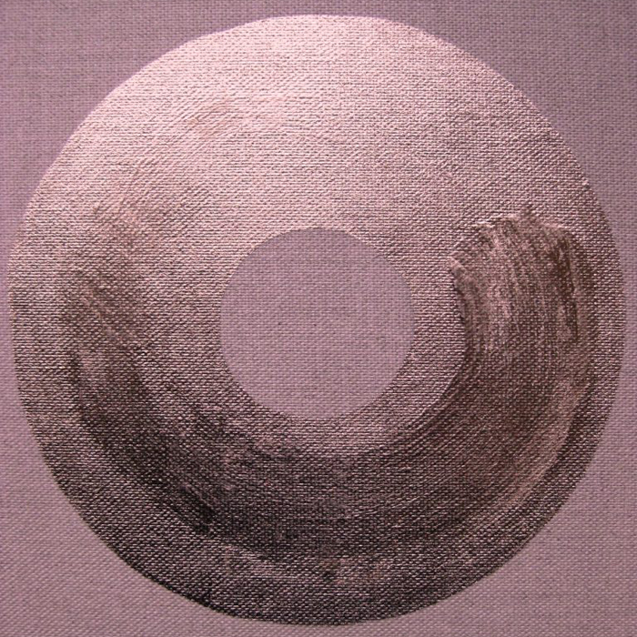 Moongold-Trace painting by Caroline Banks