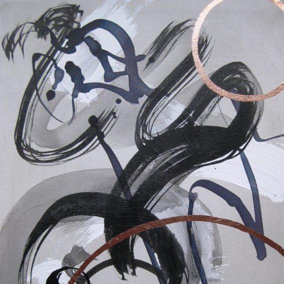 Shostakovitch IV painting by Caroline Banks