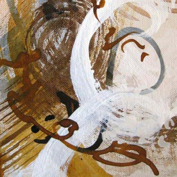 Transience study II painting by Caroline Banks