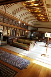 Frank Lloyd Wright room at the Metropolitan Museum