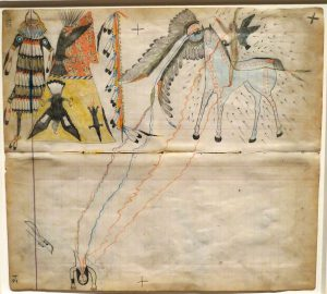 Ledger Art at the Metropolitan Museum New York