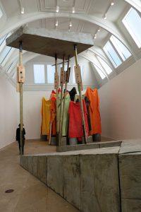 Cul-de-sac by Phyllida Barlow at the Royal Academy